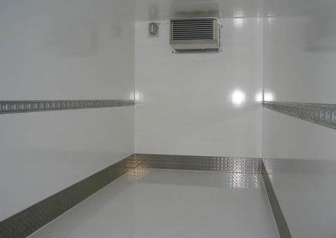 Freezer trailer - interior view