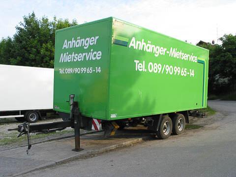 K1 - Box body trailer for trucks