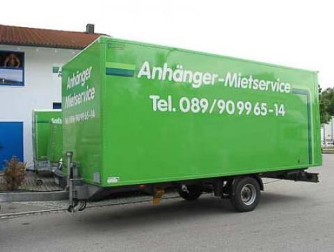 K2 - Box trailer for trucks