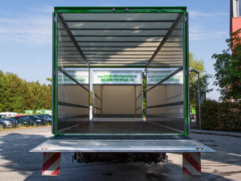 box body + tail lift + through-loading trailer