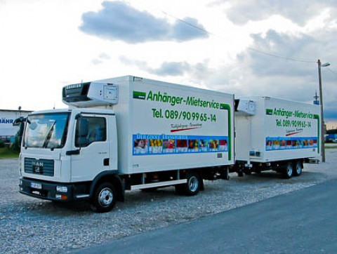 X4 - Truck deep-freeze trailer with diesel refrigeration unit