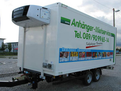 X4 - Truck freezer trailer with diesel refrigeration unit