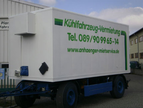 X5 - Fresh service trailer