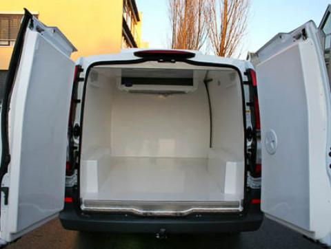 F5 - Tiefkühltransporter Mercedes-Benz Vito