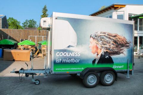 Fresh service tandem trailer (Image similar)